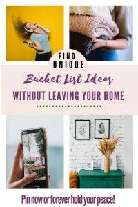 at-home bucket list ideas