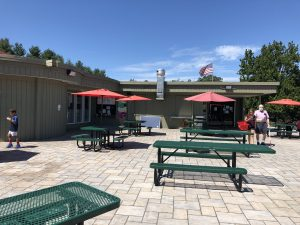 lyman orchards outdoor seating