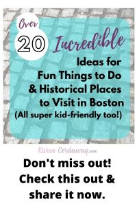 Unique things to do in Boston & Historical Places to Visit (1)