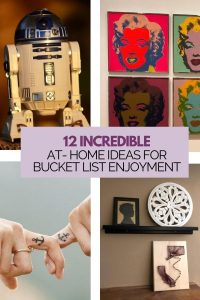 at-home ideas for bucket list