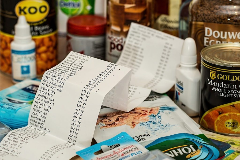 habit examples to save on groceries