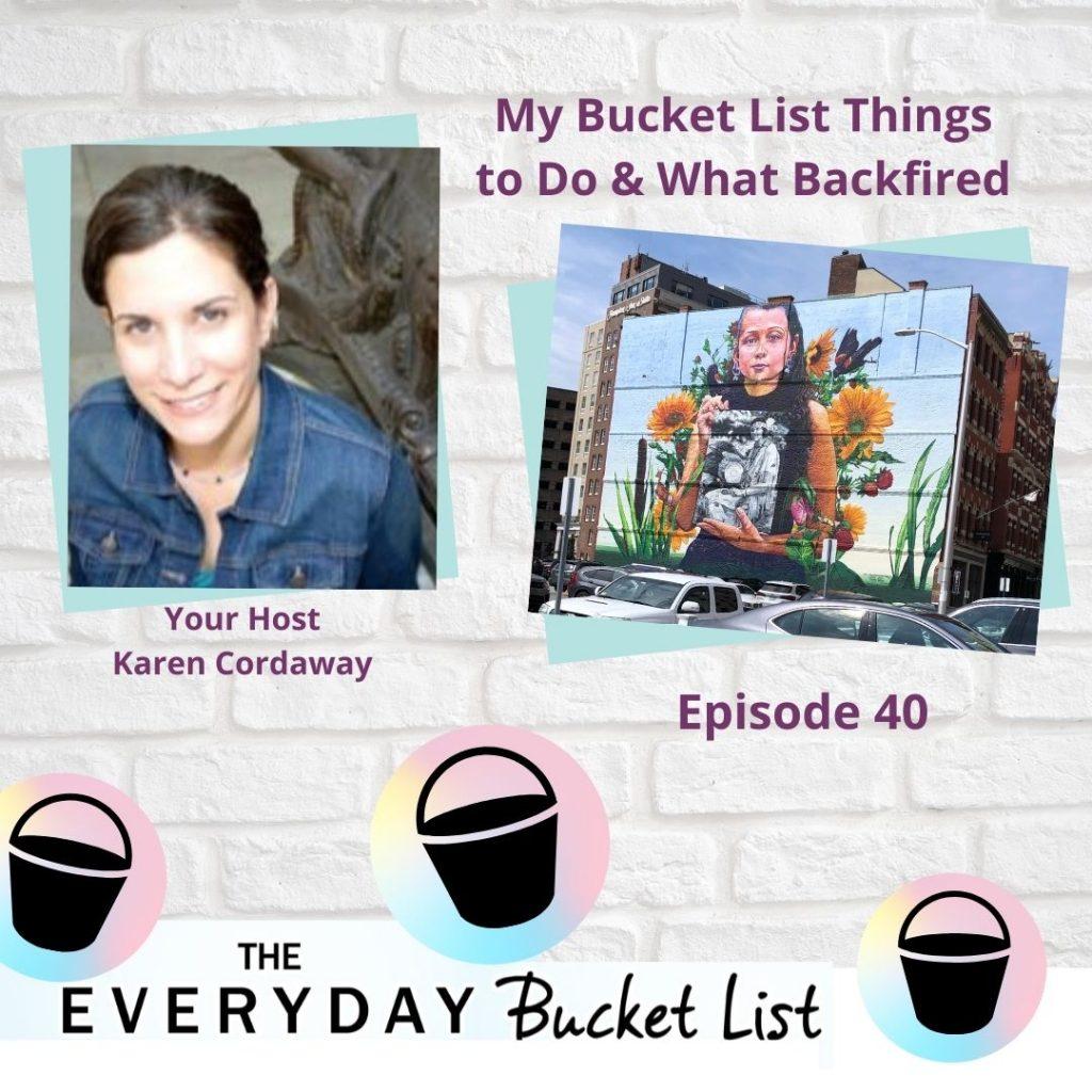 bucket list things